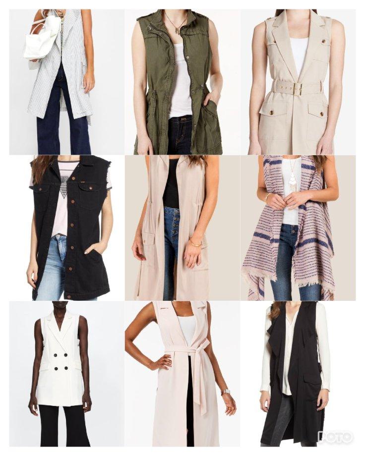 Long vest outfit inspiration