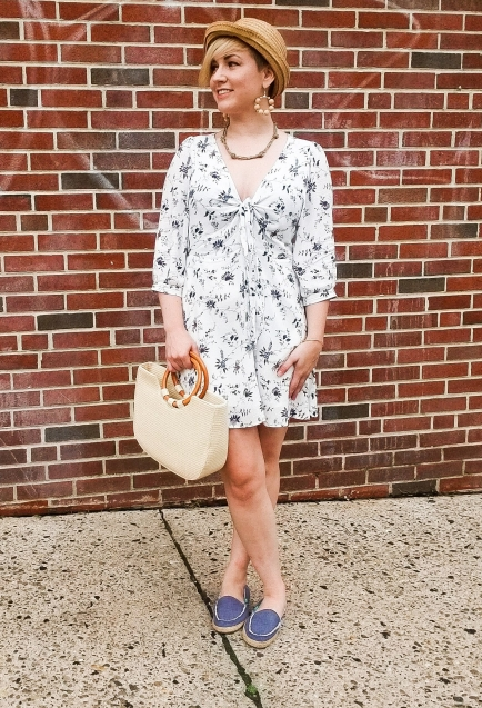 How to Transition Floral Dresses From Summer to Fall